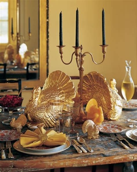 thanksgiving table 35 gold thanksgiving d 233 cor ideas digsdigs