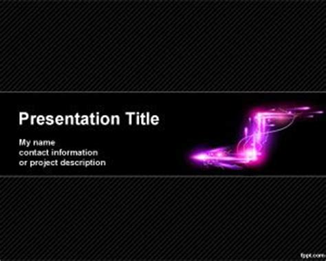 electric lines powerpoint template