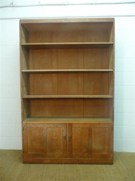 Heals Bookcase by Large Heal S Limed Oak Library Bookcase 199362