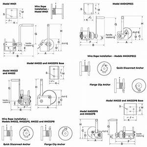Spur Gear Hand Winches