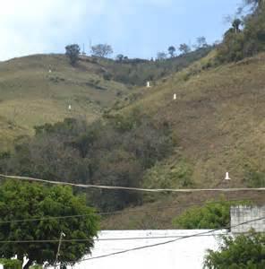 Mexican Border Wall Between Mexico and Guatemala
