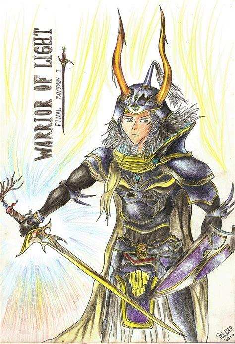 warrior of light warrior of light ff i by paulcellx on deviantart