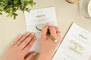 4 ways to diy elegant vellum wedding invitations cards With diy wedding invitations by hand