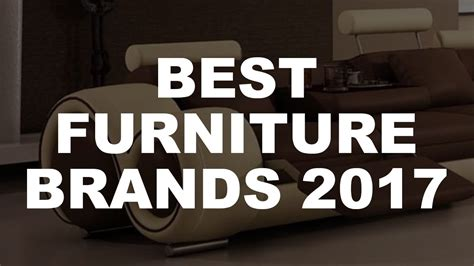 The Best Furniture Brands-youtube