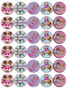 Lol Surprise Doll Cupcake Toppers Printable The Cake Boutique