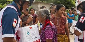 Mexican Red Cross delivers humanitarian actions in cities ...