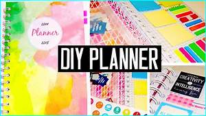 DIY PLANNER! Cover, decorations, stickers & more! DIY back