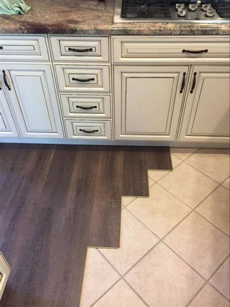 margate oak coretec floors installed  tile cork