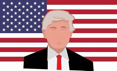 Trump Flag Donald American Clipart Service Usa