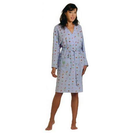 robe de chambre d été femme robe été coton femme
