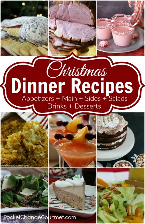 christmas diner ideas christmas dinner recipes pocket change gourmet