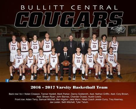 bullitt central high school boys varsity basketball winter