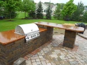 outdoor grill countertops g m concrete concrete countertops