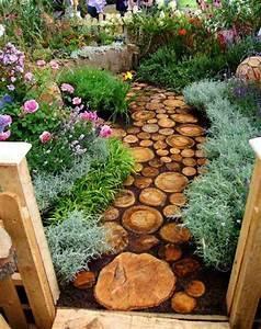 le jardin paysager tendance moderne de jardinage With idees de jardins paysagers