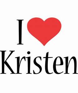 Kristen Logo | Name Logo Generator - I Love, Love Heart ...