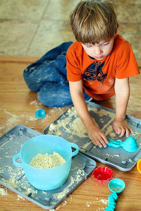 kids boredom buster sticky sand sensory play melissa doug blog