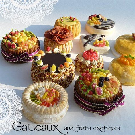 cakes oiseaudenim  images mini foods miniature