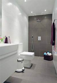 bathroom tile ideas for small bathrooms Natural small bathroom design with large tiles | Small ...