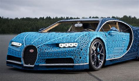 Lego technic's jeep wranger is almost as good as the real thing. Watch how the Life-Sized LEGO Technic version of the Bugatti Chiron was made [+video ...