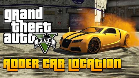 Gta 5 online videos on my channel for more gta 5 subscribe : GTA 5 Adder Spawn Location! (ALL CONSOLES) Storymode & Online! - YouTube