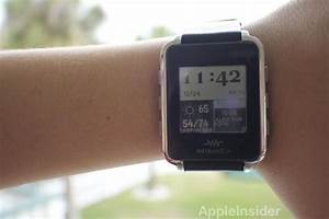 First look: MetaWatch smart watch pushes iPhone alerts to ...