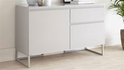 Small Modern Sideboard small modern grey sideboard with drawers uk delivery
