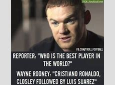 Wayne Rooney says Cristiano Ronaldo is the best player in