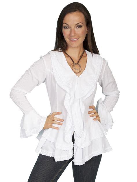 white blouse sleeve white blouse sleeved ruffled sleeves