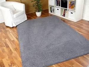 Kunstrasen Teppich Grau : hochflor velours teppich triumph grau in 24 gr en ~ Lateststills.com Haus und Dekorationen