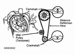Cam Pully Position  1995 Toyota Corolla Dohc Efi 1 8l With