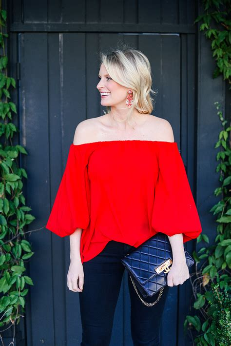 Cute Tops To Wear With Jeans and Heels on Valentineu0026#39;s Day | The Style Scribe