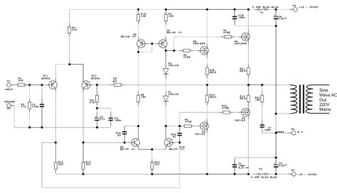 Digital Modified Sine Wave Inverter Circuit Watts