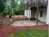 magnificent cement patio design ideas Magnificent Patio Under Deck Design Ideas - Patio Design #207