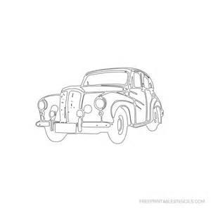 Free Printable Car Stencils