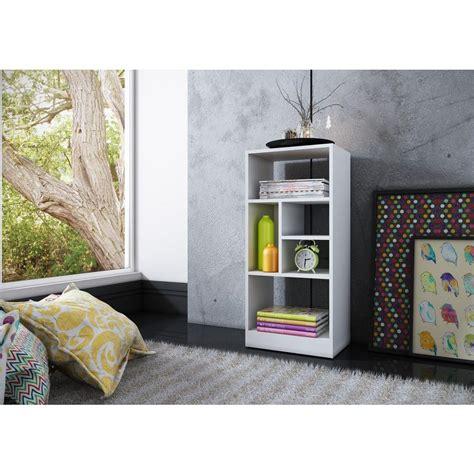 Open Bookcase White by Manhattan Comfort Valenca White Open Bookcase 24amc6 The