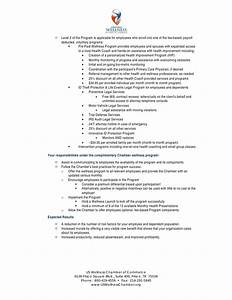 us wellness chamber of commerce wellness program proposal With wellness program proposal template