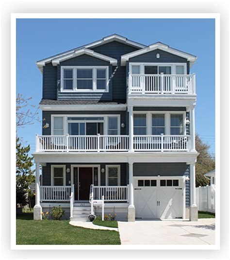 three story homes w t hannan builders brigantine new homes