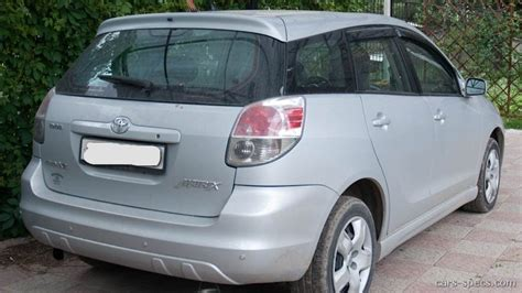 2006 Toyota Matrix Mpg by 2006 Toyota Matrix Wagon Specifications Pictures Prices