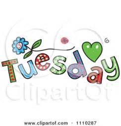 Tuesday Clip Art Free
