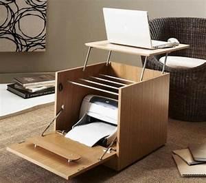 Meuble Bureau Design : meuble imprimante quelle solution choisir ~ Teatrodelosmanantiales.com Idées de Décoration