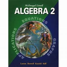 Mcdougal Littell Algebra 2  Teacher Edition Of Practice Workbook With Examples Ebay