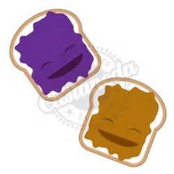 Peanut Butter Jelly Sandwich Clip Art