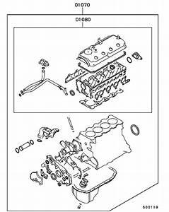 Engine Overhaul Gasket Kit For 1999