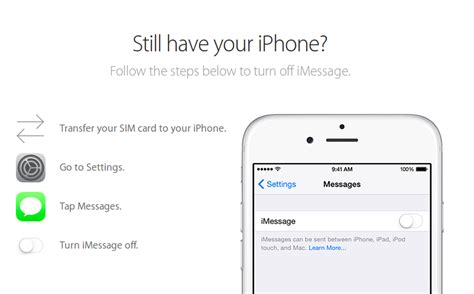 how to get your messages back on iphone how to deregister your phone number from imessage and get