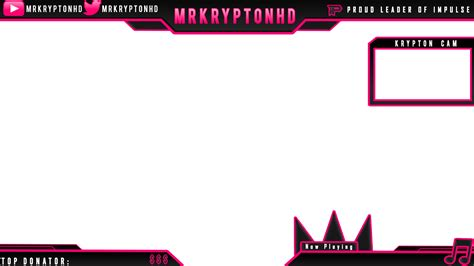 Twitch Overlay Template Girls by Animated Twitch Overlay Changes Colors Obs Or Xsplit