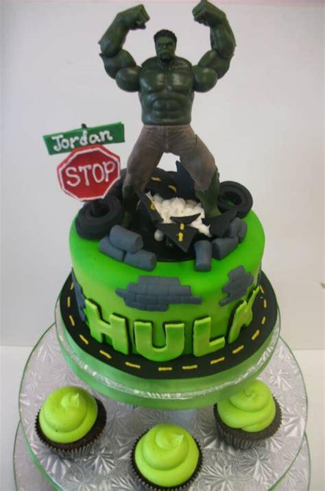 hulk birthday cakes
