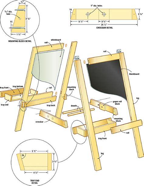 easel woodworking plans woodshop plans