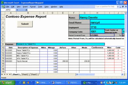 expense report template excel excel template expense report calendar template excel