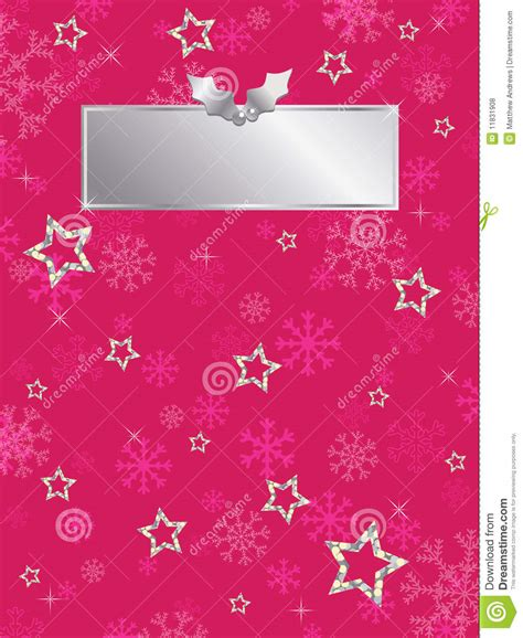Silver Pink Snowflake Background by Pink Snowflake Background Royalty Free Stock Photos