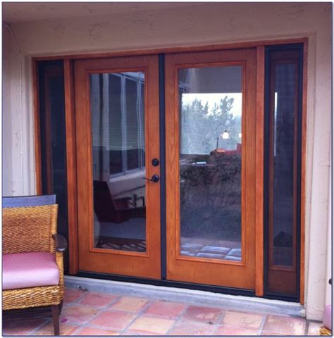 Therma Tru Patio Doors With Blinds by Therma Tru Patio Doors With Screens Patios Home